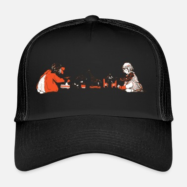 Deejay playing children - Trucker Cap