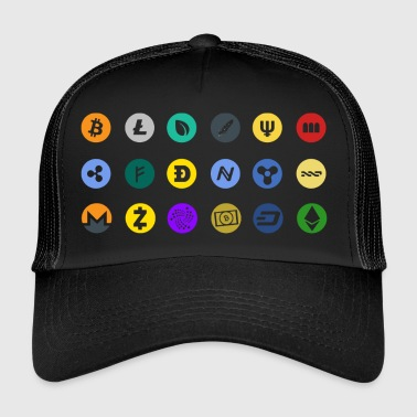 Crypto Currencies - Trucker Cap