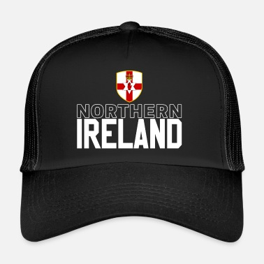 Northern Ireland Northern Ireland retro jersey - Trucker Cap