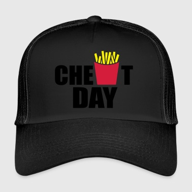 Cheating cheat day - Trucker Cap