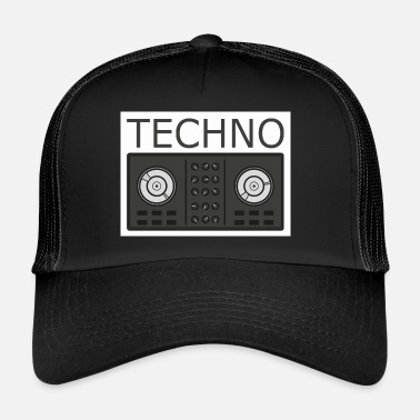 Turntable Techno Turntable - Trucker Cap