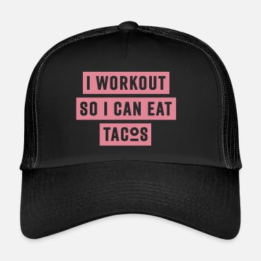 Workout WORKOUT - pink - Trucker Cap