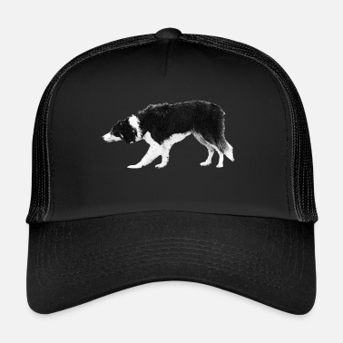 Border Collie Border Collie - Gorra de camionero