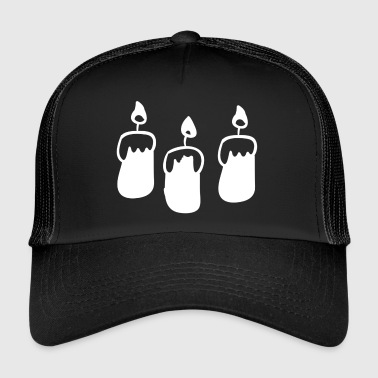 Candle candles - Trucker Cap