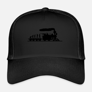 Juna Trains Evolution paita · Railway · juna · Lahja - Trucker Cap