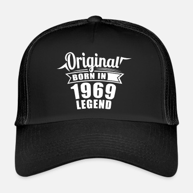 1969 1969 Original Gift Birthday - Trucker Cap