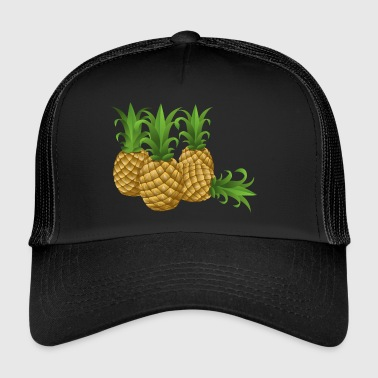Pineapples - pineapple - Trucker Cap