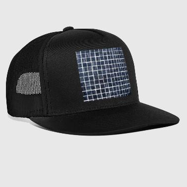 Ternet mønsterflise - Trucker Cap