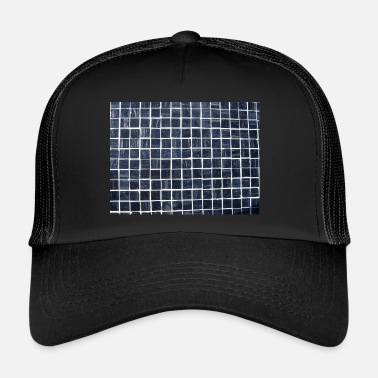 Carreaux Carrelage à carreaux - Trucker Cap