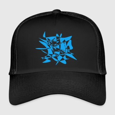 Art Abstrait Art abstrait / Dessin abstrait - Trucker Cap