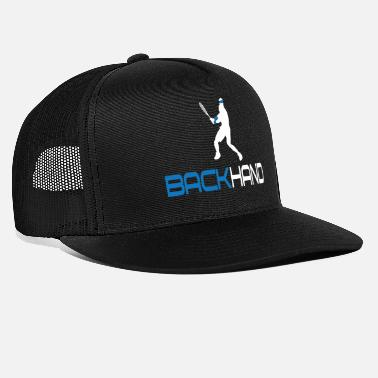 Backhand Tennis Backhand - Trucker Cap