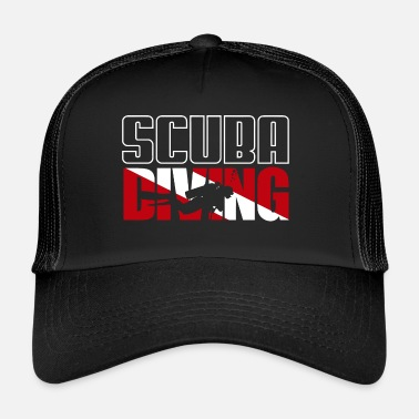 Scuba Diving SCUBA Diving / Tauchen / busseig / Mergulho / Diving - Trucker Cap