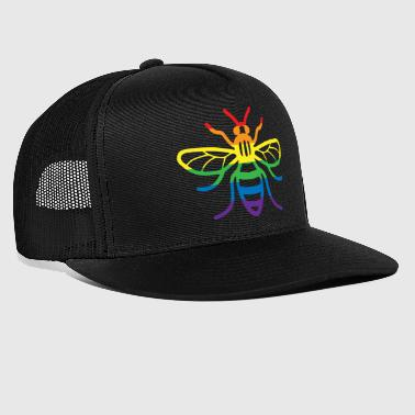 Gay Pride Bee - Trucker Cap