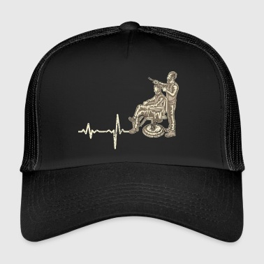 Shirt prezent - Heartbeat Barber - Trucker Cap
