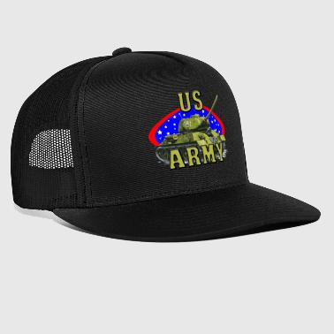 US Army - Army - War - War - Trucker Cap