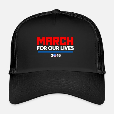 Dwijlorkest March For Our Lives 2018 T-shirts - Trucker Cap