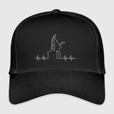 Chimney sweep heartbeat - Trucker Cap