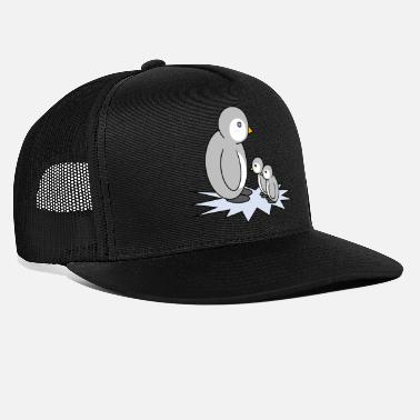 Offspring Penguin with offspring - Trucker Cap
