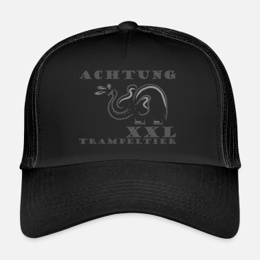 Tramp Attention tramping animal - Trucker Cap