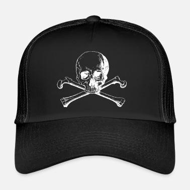 Ossa Incrociate Teschio e ossa incrociate - Trucker Cap