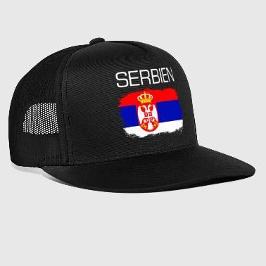 Cadeau de fan fan de football Serbie - Trucker Cap