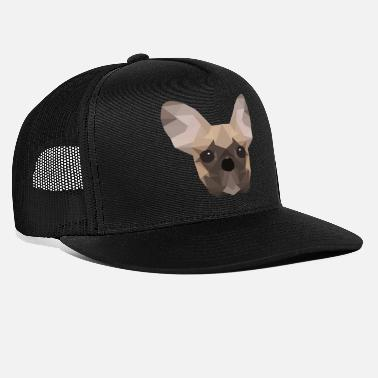 French French Bulldog Low Poly - Trucker Cap