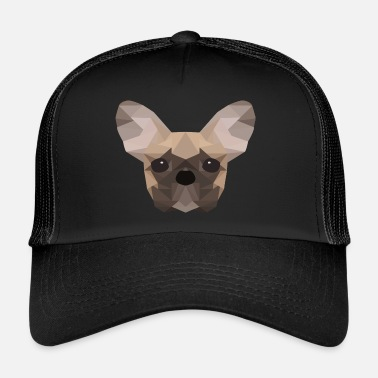 French Bulldog French Bulldog Low Poly - Trucker Cap
