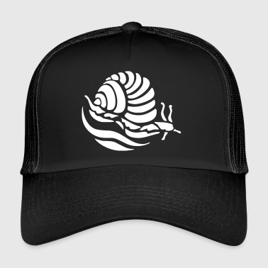 Coquille D Escargot Escargot d'escargot rampant coquille d'escargot - Trucker Cap