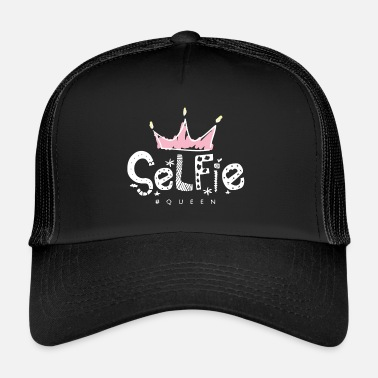 Snapchat Selfi, Queen, Snapchat, Instagram, WhatsApp, photo - Trucker Cap