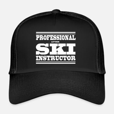Ski Instructor SKI INSTRUCTOR - Trucker Cap