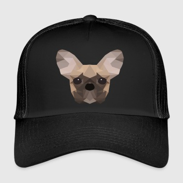 Bouledogue français Low Poly - Trucker Cap