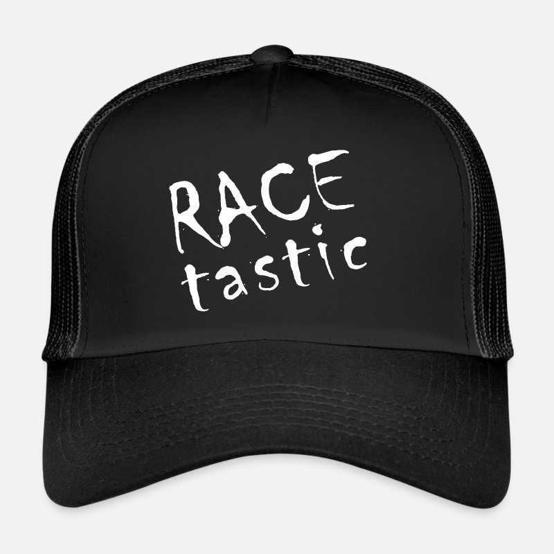 Motor Race Caps & Hats - RACE tastic - Trucker Cap black/black