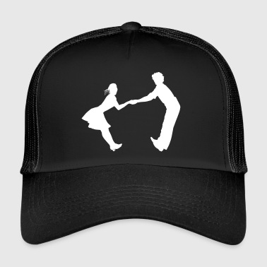 Dance-music Dancing dance couple music dance music - Trucker Cap