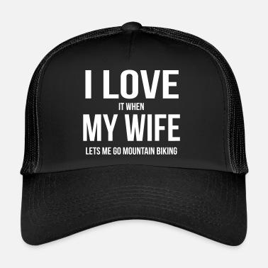 e4473788815 I LOVE MY WIFE (IF SHE LETS ME MOUNTAIN BIKE RIDING) Bandana ...
