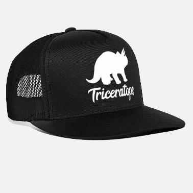 Triceps Triceratops Triceps Dinosaur Gave Dino - Trucker cap