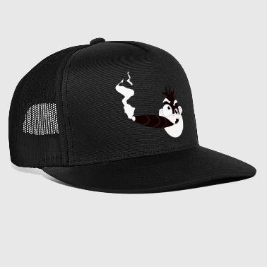 CRAZY MONKEY SMOKING - Gorra de camionero
