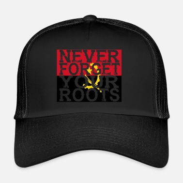 Angola never forget roots home Angola - Trucker Cap