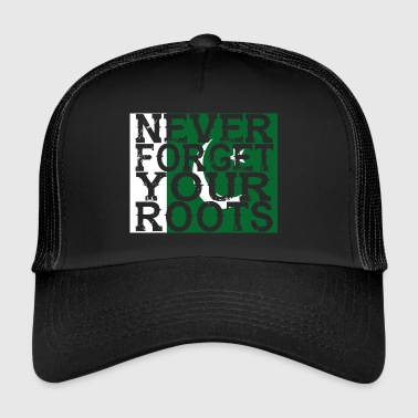 never forget roots home Pakistan - Trucker Cap