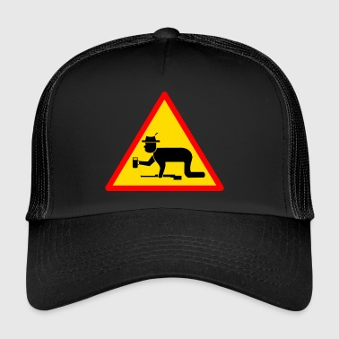 Attention chasseur - Trucker Cap