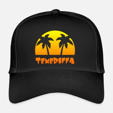 Isole Canarie Isole Canarie - Palme - Tenerife - Trucker Cap