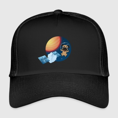 Space Dog | Dog in outer space - Trucker Cap