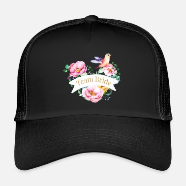 Celibenubile bouquet1team_bride - Trucker Cap