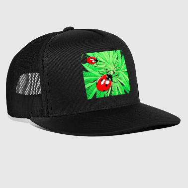 hemp beetle - Trucker Cap