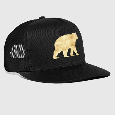 Abstract Bear - Trucker Cap