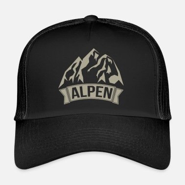 Alpes Alpes - Trucker Cap