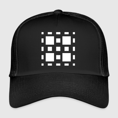 Art Abstrait Abstrait Art Abstrait - Trucker Cap