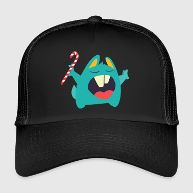 Gothic Christmas Christmas Monster - Trucker Cap