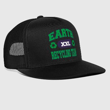Earth Day Recycle squadra - Trucker Cap