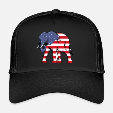 United United olifant - Trucker Cap