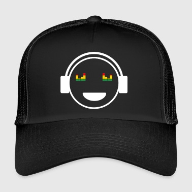 Audio Phil Smiley Écouteurs Music Lover Weiss - Trucker Cap